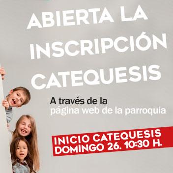 Inscripción catequesis PNS MSC